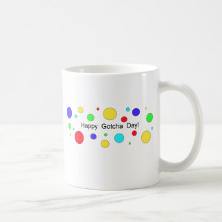 Happy Gotcha Day! Classic White Coffee Mug