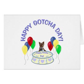 Happy Gotcha Day Doggie Card