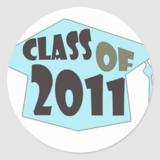 Happy Graduation Classic Round Sticker