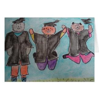 Happy Gradution Greeting Card