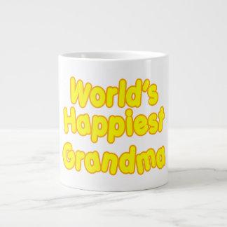 Happy Grandmothers :  Worlds Happiest Grandma Large Coffee Mug