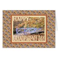 Happy Grandparents Day-Bridge Card