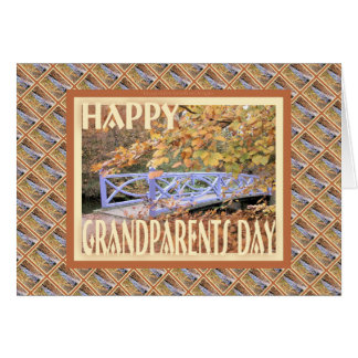 Happy Grandparents Day-Bridge Card