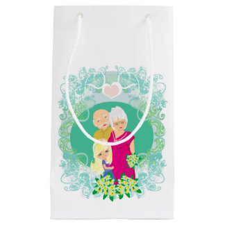 Happy grandparents day Gift Bag Small Gift Bag