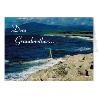 Happy Grandparent's Day/Grandmother- Seaview Card