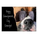 Happy Grandparents Day Grandpa Boxer card