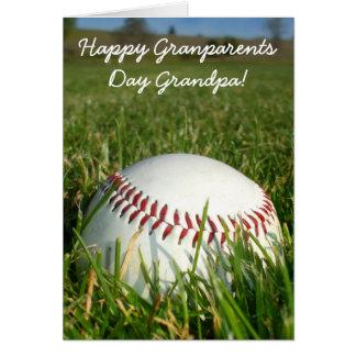 Happy Grandparents Day Grandpa Greeting card