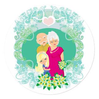 Happy grandparents day Invitation