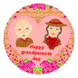 Happy grandparents day Invitation