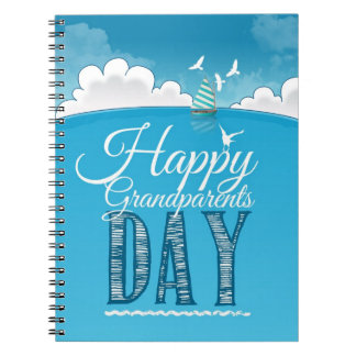 Happy grandparents day notebook