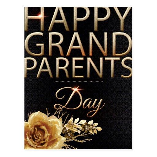 Happy grandparents day postcards