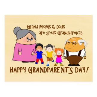 Happy Grandparents Day! Postcard