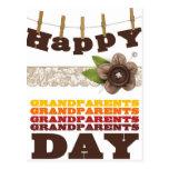 Happy grandparents day postcard