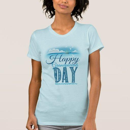 Happy grandparents day remera