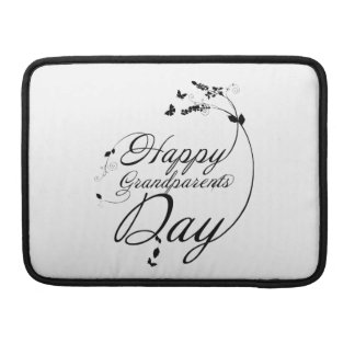 Happy grandparents day sleeve for MacBook pro