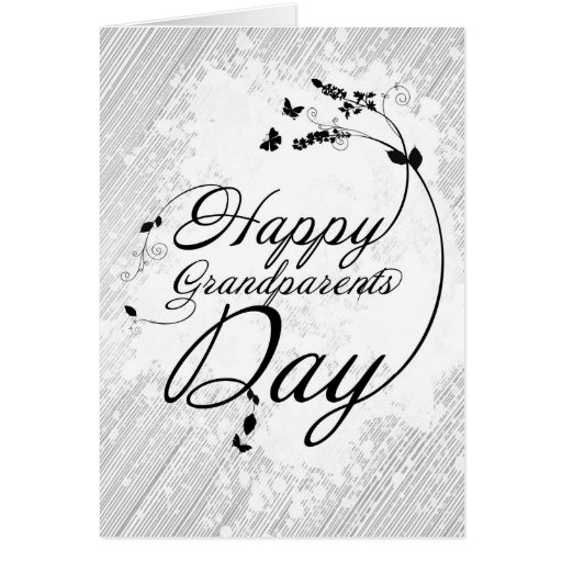Happy grandparents day tarjeta de felicitación