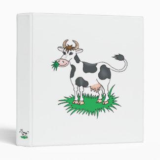 happy grazing cow binder