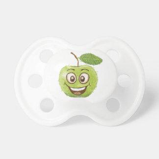 happy green apple pacifier