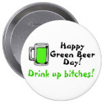 Happy Green Beer Day Pin