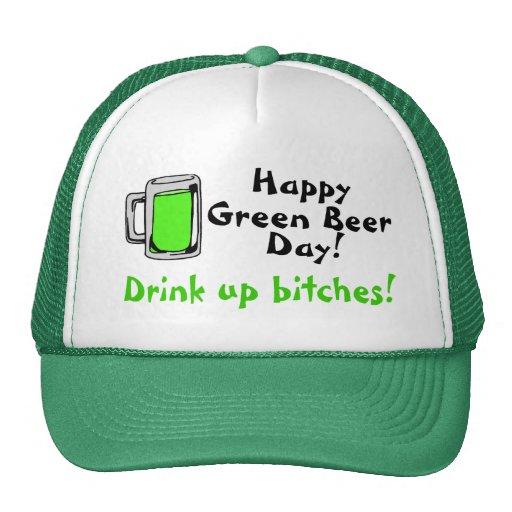 Happy Green Beer Day Trucker Hat