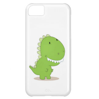 Happy Green Dino iPhone 5C Cover