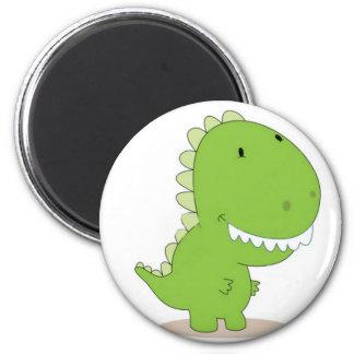 Happy Green Dino Magnet
