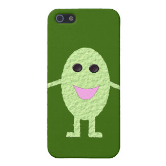 Happy Green Grape iPhone 4 Case