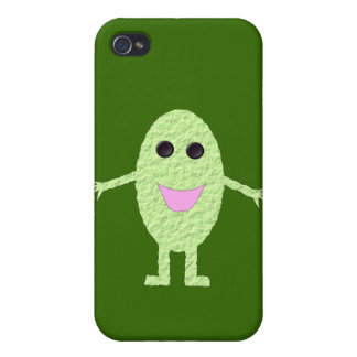 Happy Green Grape  iPhone 4 Cases