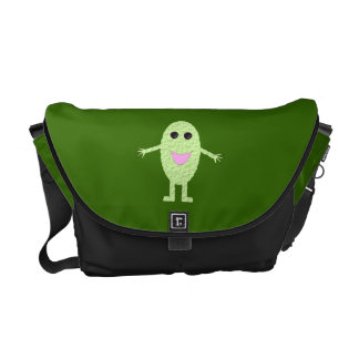 Happy Green Grape Messenger Bag