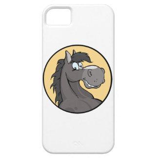 Happy Grey Horse iPhone SE/5/5s Case
