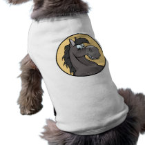 Happy Grey Horse T-Shirt