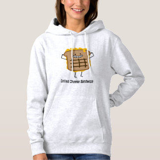 Happy Grilled Cheese Sandwich Hoodie