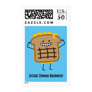 Happy Grilled Cheese Sandwich Postage