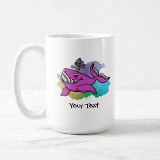 Happy Grinning Whale Coffee Mug