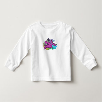 Happy Grinning Whale Toddler T-shirt