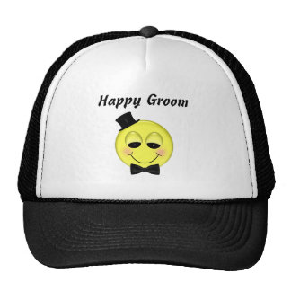Happy Groom Mesh Hat