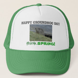Happy Groundhog Day - Cap