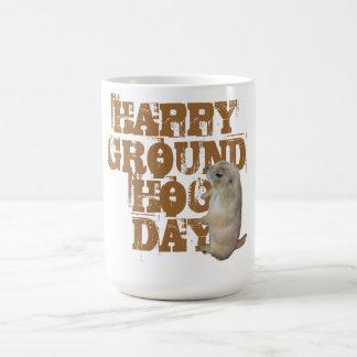 HAPPY GROUNDHOG DAY COFFEE MUG