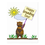 Happy Groundhog Day Groundhog Post Cards