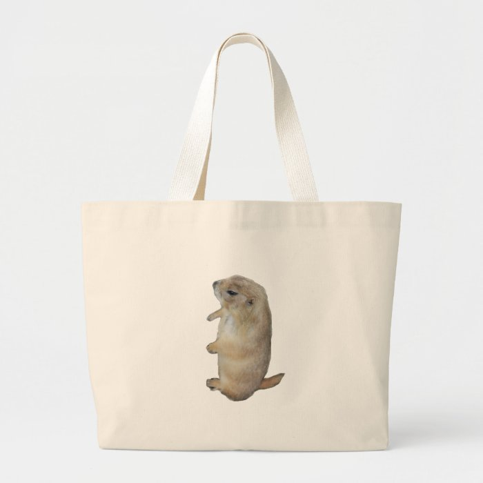 HAPPY GROUNDHOG DAY LARGE TOTE BAG