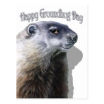 Happy Groundhog Day Post Card