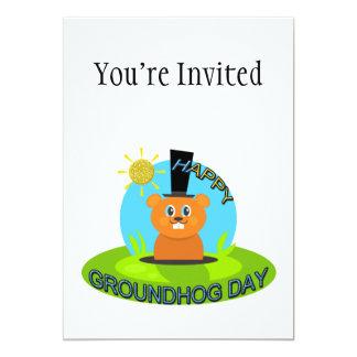 Happy Groundhog Day Sunshine Card