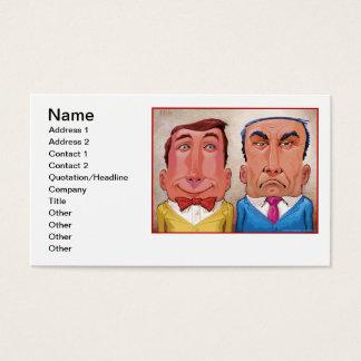 Happy & Grumpy Business Card