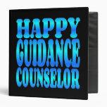 Happy Guidance Counselor Vinyl Binder