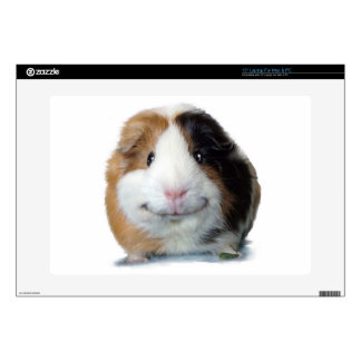 """Happy Guinea Pig 15"""" Laptop Decal"""