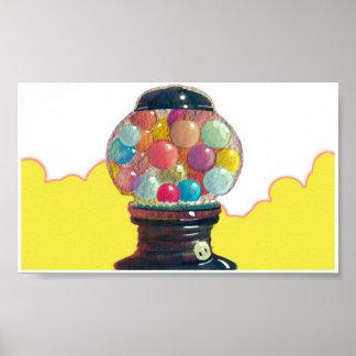 Happy Gumballs Poster