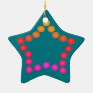 Happy Gumdrops Cute Christmas Star Decorations