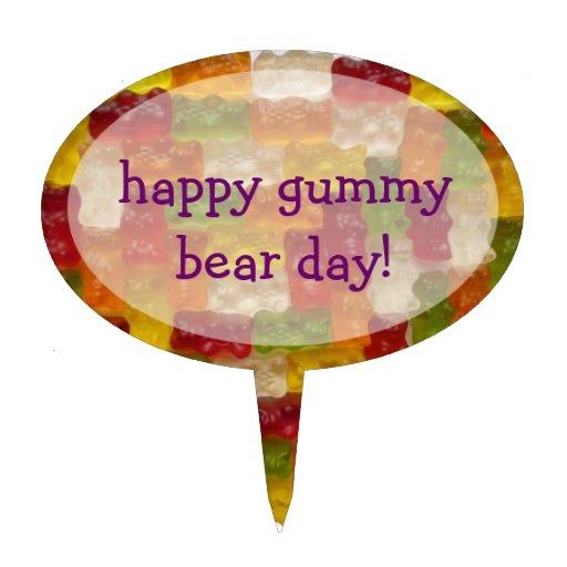Gummy Bear Cake Designs