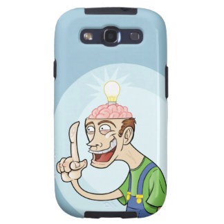 Happy Guy with a great idea Samsung Galaxy SIII Covers
