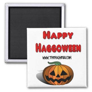 Happy Haggoween Sq Magnet